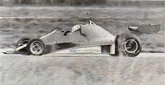 Ferrari 312T2 with ears Fiorano test 75 or 76