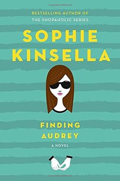 In interviews about her first young adult novel, Confessions of a Shopaholic author Sophie Kinsella admitted she didn't intend for Finding Audrey to be YA. Ya Books, Good Books, Books To Read, Free Books, Sophie Kinsella Books, Finding Audrey, Galera Record, Young Adult Fiction, Ya Novels