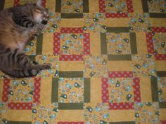 A new quilt kinda makes you want to bite your foot!