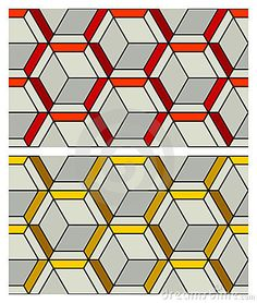 3D Cube Pattern by Martin Isaac, via Dreamstime