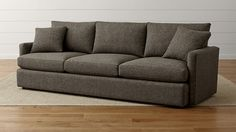 "Miller: Another sofa option thats more overstuffed and modern. Lounge II Petite 3-Seat 105"" Grande Sofa"