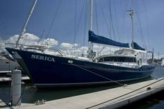 "73 Ron Holland Steel Cruising Sail Yacht ""SERICA"""