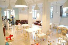 Espacios Cool para Niños... Grey Elephant en Madrid