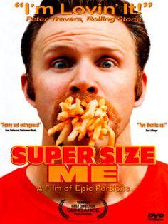 Le journaliste décide de se nourrir exclusivement chez McDonald's pendant un mois et enquête à travers les États-Unis sur les effets néfastes du fast-food et de la célèbre chaîne spécialiste du hamburger, qui entraînent l'accroissement de l'obésité.