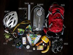 DIY Girls Mountain Biking Emergency Pack