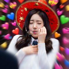 K Pop, Gf Memes, Heart Meme, Sinb Gfriend, Role Player, Ugly Faces, I Love Girls, Wholesome Memes, Love Memes