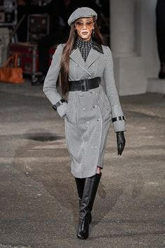 Tommy Hilfiger Fall 2019 Ready-to-Wear Collection - Vogue Fashion Week, Fashion Show, Fashion Trends, Vogue Paris, Tommy Hilfiger Looks, Winnie Harlow, Quoi Porter, Vogue Us, Winter Chic