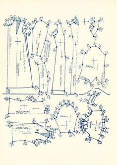 Lutterloh 1938 Book Of Cards -  Models  Diagram Card 6