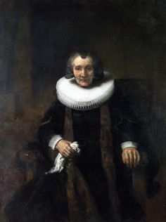 Portrait of Margaretha de Geer Wife of Jacob Trip Rembrandt | National Gallery London