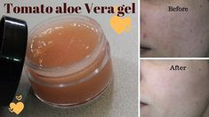 Hi this is Tomato aloe vera gel for ane free clear skin video. You can store this gel in cold place for 15 days and it needs only two ingredients tomato paste and aloe vera gel. This gel will remove sun tan, acne and acne scars. It will also give you glowing hydrating skin. Aloe Vera Mask, Aloe Vera For Face, Aloe Vera Gel, Tomato For Skin, Tomato Face Mask, Gel Face Mask, 7 Day Challenge, Face Skin Care, Acne Scars