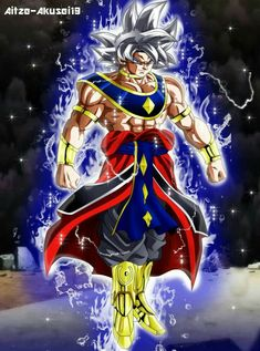 Dragon Ball Heroes Manga Chapter 13 - We get to see Cumber go Super Saiyan and possible a Great Ape in the the manga against Vegito Bule. Dragon Ball Gt, Dragon Ball Image, Foto Do Goku, Goku Wallpaper, Animes Wallpapers, Anime Characters, Character Art, Fantasy, Bipper