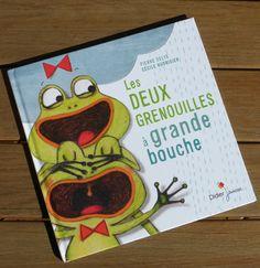 les deux grenouilles à grande bouche, Cécile Hudrisier