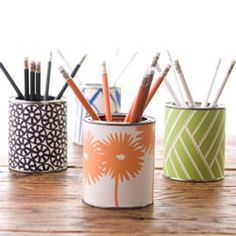cheery pencil cups