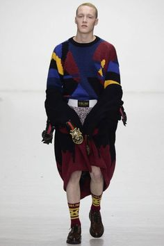 Sibling Fall/Winter 2016/17 - London Collections: MEN - Male Fashion Trends