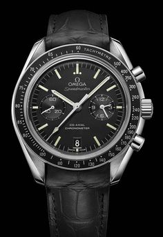 La Cote des Montres : La montre Omega Speedmaster Chronographe Co-Axial - La Moonwatch : des lignes qui défient le temps