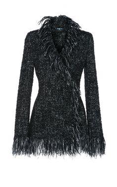 3289babdad28 Tweed Fringe Jacket by PAULE KA Fringe Jacket, Tweed Jacket, Paule Ka,  Fringe
