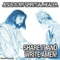 Amen jesus is my sirtual healer