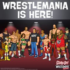 #ScoobyDoo #WWE #RuhRohRaw