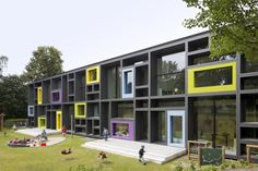 Children's day care center in Hamburg, Germany by Kadawittfeldarchitektur