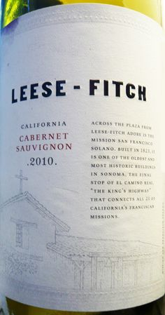 Leese-Fitch 2010 CabSauv...got for $8 at World Market :)