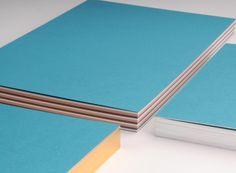 COLOR NOTES – Notizbücher mit 3-farbigen Innenseiten; Covermaterial COCKTAIL, Curaçao
