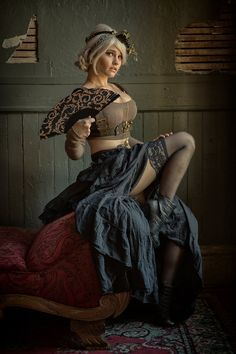 Steampunk Tendencies ‏@Steampunk_T Sierra Stormborn - Daniel Lahaie Photography