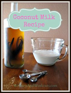 Coconut Milk Recipe--How to Make Coconut Milk the Easy Way, and avoid preservatives, gums and BPA!