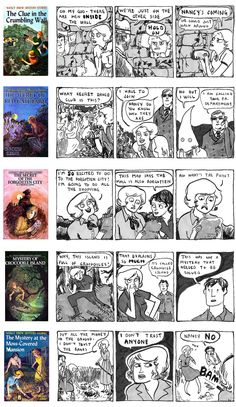 Thanks for introducing me to these amazing Nancy Drew comics, Chef Jason.  You know me so well.