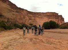 Excursión en Bici por el Cañon de Talampaya