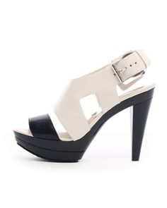 MICHAEL Michael Kors Carla Colorblock Platform Sandal. $150