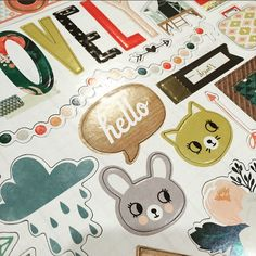 We can't get over the cuteness overload that is the 'Wonder' range. Seriously, look these adorable chipboard elements! www.thepaperempire.com.au