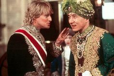 Owen Wilson and Jackie Chan in Shanghai Knights