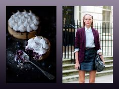 blueberry meringue pie + irina by streetstyle aesthetic {miss moss}