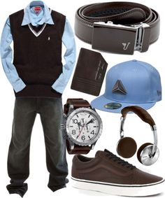 """Chocolate Belt - Brown"" by kristinmadsen on Polyvore"
