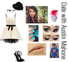 """""""Date with Austin Mahone 3 *contest*"""" by fourboys-andajennifer ❤ liked on Polyvore"""