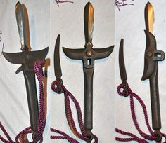 Karakuri jitte (hand held spear with a swiveling guard).