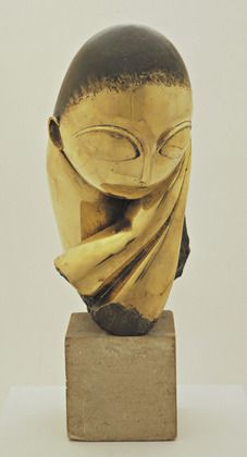 Constantin Brancusi. Mlle Pogany. version I, 1913 (after a marble of 1912)