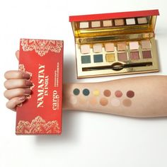 The ultra-creamy, richly pigmented formula glides on effortlessly for precise lining. eye shadow palette Limited Edition Namastay in India Eye Shadow Palette Eyeshadow Brushes, Eyeshadow Palette, Venice Film Festival, Cargo Cosmetics, Brow Kit, Makeup For Brown Eyes, Makeup Eyes, Makeup Rooms, Makeup Sponge