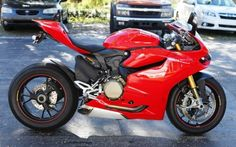 Bike of the Week 12-26-14 | 2013 Ducati 1199 Panigale S in Red | Euro Cycles of Tampa Bay Florida