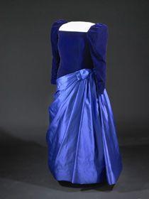 Barbara Bush's Inaugural Gown, 1989