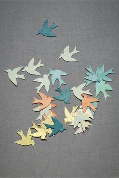 biodegradable paper bird confetti