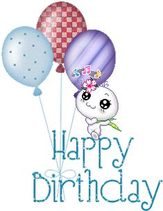 Free singing birthday cards for facebook from all of us free happy birthday glitter animated birthday orkut scraps bday myspace comments and greetings bday wishes m4hsunfo