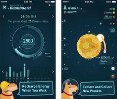 Walkr, un juego gratuito para ponerte en forma con tu iPhone. #apps #gamificacion