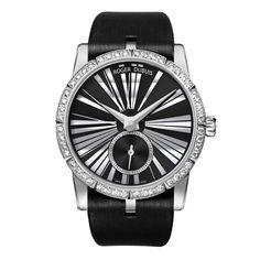 """La montre """"Excalibur 36"""" de Roger Dubuis http://www.vogue.fr/joaillerie/le-bijou-du-jour/diaporama/la-montre-excalibur-36-de-roger-dubuis/10390"""