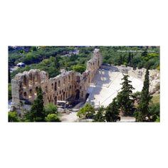 Theater of Herod Atticus - Athens Custom Photo Card