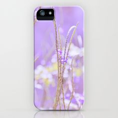 Gladness breathes from the blossoming ground. iPhone Case by Laura George - $35.00