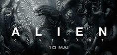 Alien : Covenant, Film de Ridley Scott, avec Michael Fassbender, Katherine Waterston. Un vaisseau découvre un paradis inconnu avec une menace.