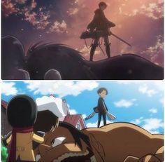 Shingeki no Kyojin x Shingeki! Kyojin Chuugakkou