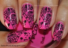 Nicole by OPI Pink Seriously and RA 102