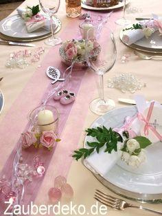 Bildergebnis Fur Dekoration Taufe Madchen Taufe Table